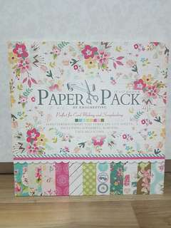Eno Greeting Scrapbooking Paper Pack