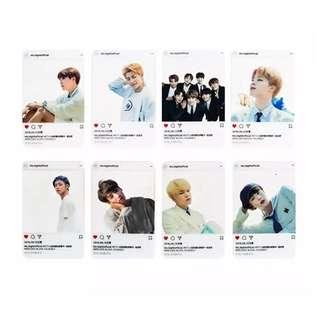 [PO] BTS TRANSPARENT CARD