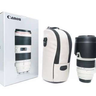 Canon 70-200mm f2.8 IS II USM lens