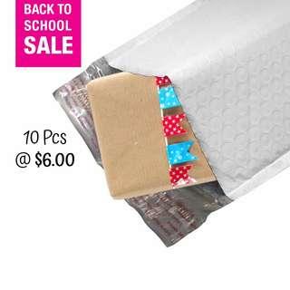 SALE! 10 Pcs Polymailer Envelope with Bubble Wrap