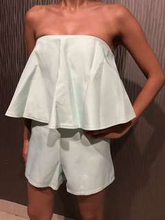 MDS Mint Playsuit size S