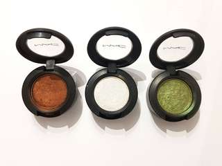 MAC Eyeshadow Sprout, Forgery, Bronze