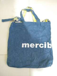 Mercibeaucoup 2 way tote bag,Not Hermes Lv Chanel Tiffany Cartier Bvlgari Bv Nike Burberry Porter
