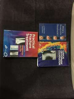 Medical student orthopedic textbooks