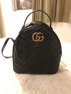 GUARANTEED AUTHENTIC GUCCI Marmont backpack