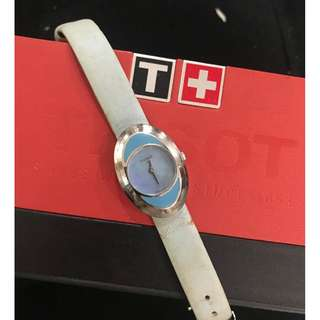 Tissot and Bench Watch
