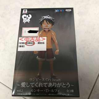 One Piece Banpresto Prize Catcher Cry Heart Series Vol. 2 Monkey D. Luffy