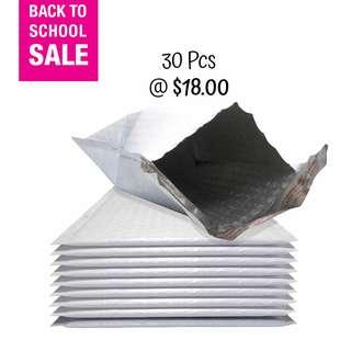 SALE! Polymailer Envelope with Bubble Wrap 30 Pcs