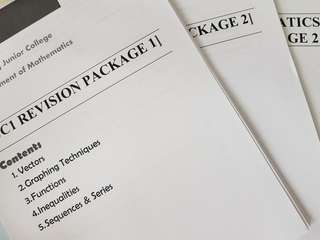 H2 Mathematics Topical Revision Packages