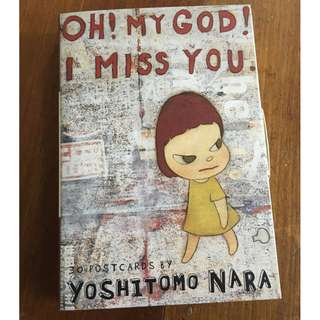 Oh! My God! I Miss You. 30 Postcards by Yoshitomo Nara