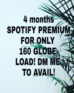 4 MONTHS SPOTIFY PREMIUM ACCOUNT