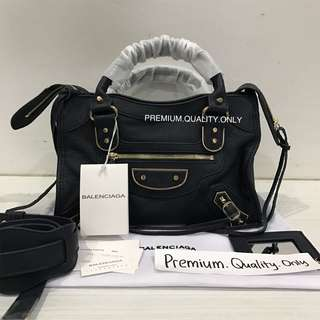 Balenciaga City Bag- navy blue