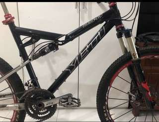 Yeti ASR Full Suspension Frame Clearance!!!!!!