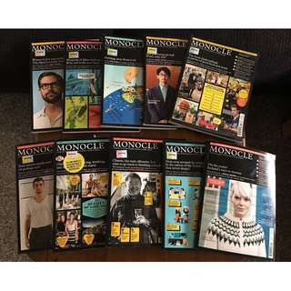 Monocle Back Issues