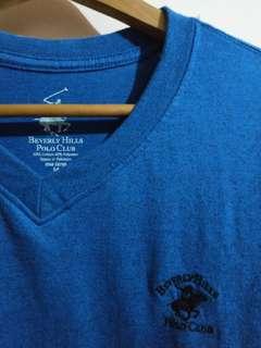Beverly Hills Polo Club Blue Shirt (repriced)