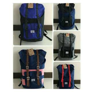 Herschel bags 100% Original