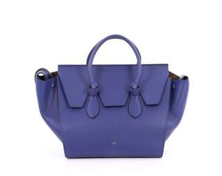 Celine Tie Knot Smooth Leather Tote