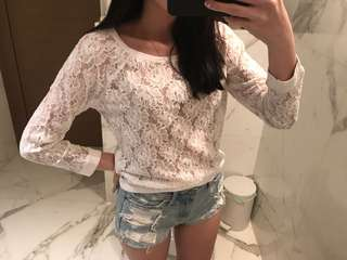 🚚 Abercrombie & Fitch Lace Top