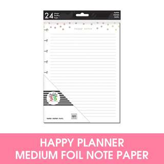 🚚 Medium Happy Planner Foil Happy Notes Fill Paper