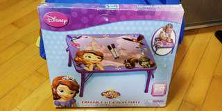 Disney Sofia Sit and Play Table