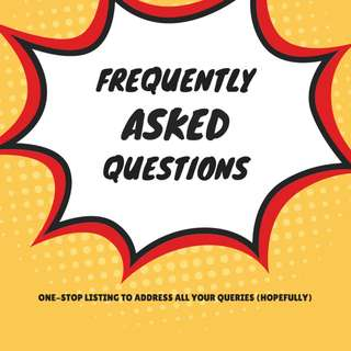 Frequently Asked Questions (FAQs) [Updated 18 June 2018]