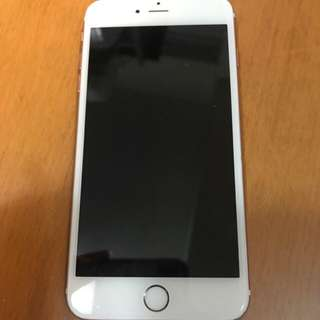 iPhone 6s plus 16gb rose gold camera broken