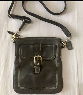 Authentic sling coach bag