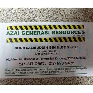 Azai Generasi Resources
