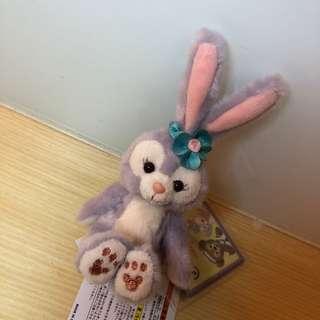全新 史黛拉兔 坐姿吊飾 達菲朋友 Stella lou 日本東京迪士尼海洋購入