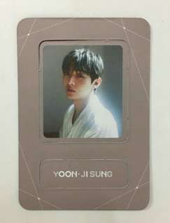 WANNA ONE Jisung magnet (Lean On Me ver)