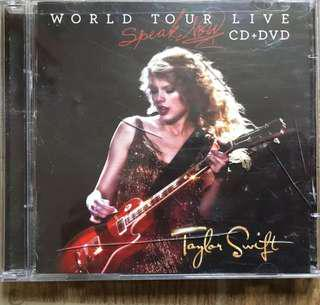 CD + DVD: Taylor Swift - Speak Now Tour