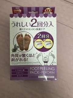 foot peeling mask