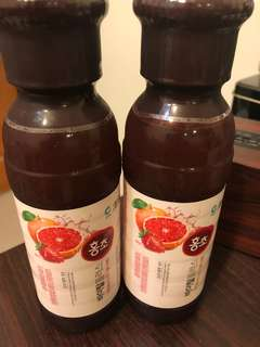 🚚 Hong cho. 草莓葡萄柚果醋*10罐