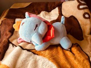 小飛象 Dumbo 趴趴睡 毛公仔 掛件 22cm