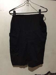 Maternity shorts 33 inches hips (pambahay)