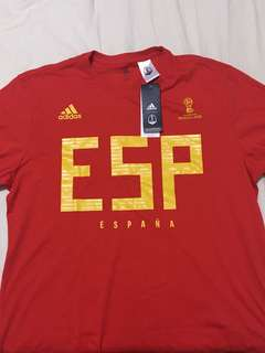 Authentic Adidas World Cup 2018 Spain Tee
