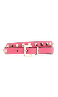 VALENTINO Valentino Garavani Rockstud leather belt