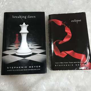 Eclipse and Breaking Dawn