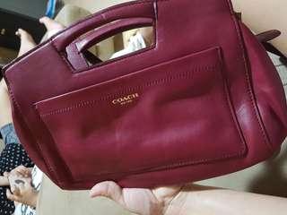 Coach Cherry Red Sling bag