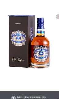 19.6 芝華士 18年威士忌