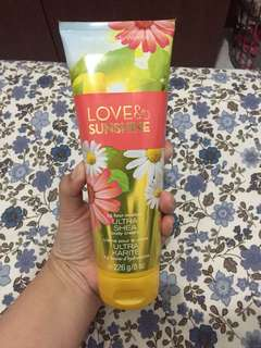Bath&Body Works Love&Sunshine Ultra Shea Body Cream