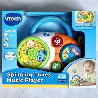 (In-Stock) VTech Spinning Tunes Music Player, Multicolor (Brand New)