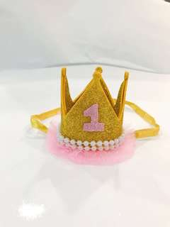 Princess/ Prince Crown (100% Handmade)