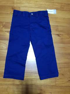 🚚 Carter's long pants in blue