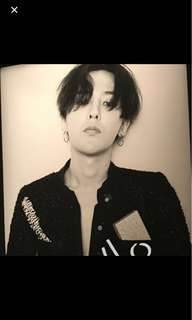 GDragon 權志龍 chanel poster