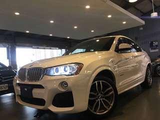 2015 BMW X4 xDrive28i   M  sport package 特規M版