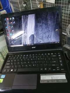 Acer Laptop core i3 nividia grafik card 1 GB