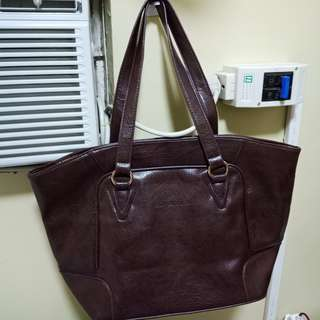 Authentic Girbaud brown tote bag