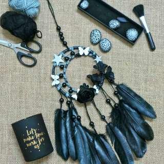 Dreamcatcher Black Roses of Night
