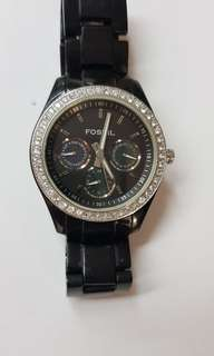 Fossil Diamond Watch Preloved